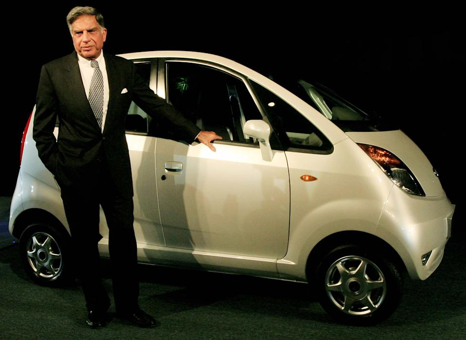 In 2009, he envisioned Tata Nano car, the cheapest car of India worth Rs 1 lakh. He delivered on his promise.