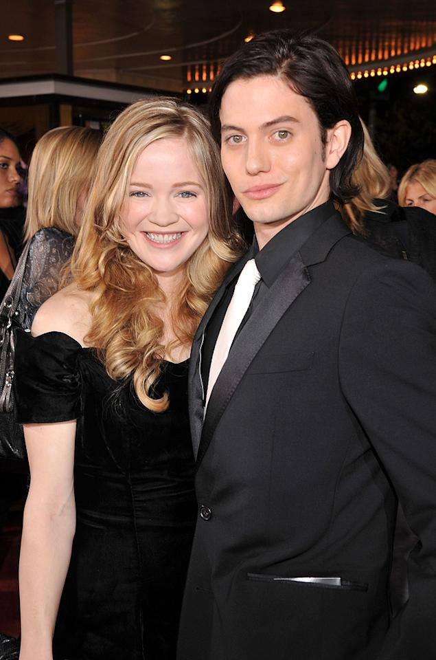 """Melissa Rathbone and <a href=""""http://movies.yahoo.com/movie/contributor/1809769056"""">Jackson Rathbone</a> at the Westwood premiere of <a href=""""http://movies.yahoo.com/movie/1810010670/info"""">Twilight</a> - 11/17/2008"""