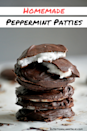"""<p>All you need to DIY this popular candy? A few simple ingredients and a fridge.<br> </p><p><a class=""""link rapid-noclick-resp"""" href=""""https://nutritionalanatalie.com/recipe-redux-peppermint-patties/"""" rel=""""nofollow noopener"""" target=""""_blank"""" data-ylk=""""slk:GET THE RECIPE"""">GET THE RECIPE</a></p><p><em>Per serving: 192 calories, 9 g fat (6 g saturated), 27 g carbs, 2 mg sodium, 24 g sugar, 1 g fiber, 1 g protein</em></p>"""