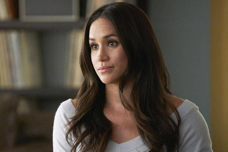 Meghan Markle as Rachel Zane on season seven of 'Suits' (USA Network/Netflix/Kobal/REX/Shutterstock)