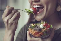 """<p>In the following <strong><a href=""""https://ca.style.yahoo.com/tagged/unhealthiestfood"""" data-ylk=""""slk:Unhealthiest Food"""" class=""""link rapid-noclick-resp"""">Unhealthiest Food</a></strong> segment, we've rounded up some of the unhealthiest salads you can order at <strong><a href=""""https://www.technomic.com/Resources/Industry_Facts/dyn_Top_20_canadian_sales.php"""" rel=""""nofollow noopener"""" target=""""_blank"""" data-ylk=""""slk:top Canadian fast food and casual dining chain restaurants"""" class=""""link rapid-noclick-resp"""">top Canadian fast food and casual dining chain restaurants</a></strong>, including <strong>McDonald's, Subway, Pizza Pizza, Tim Hortons</strong> and <strong>Burger King</strong>. Based on a 2,000 calorie per day diet, the daily recommended intake for the average Canadian adult is about 65 grams of fat (no more than 20 grams saturated), and between 1,500 – 2,400 mg of sodium, so we've also rounded up some healthier alternatives.<br><strong>Scroll through to the end to see what topped our list of unhealthy salads</strong> and make sure to check out our lists of <a href=""""https://ca.style.yahoo.com/canadas-unhealthiest-fast-food-burgers-194439634.html"""" data-ylk=""""slk:unhealthiest fast food burgers;outcm:mb_qualified_link;_E:mb_qualified_link;ct:story;"""" class=""""link rapid-noclick-resp yahoo-link"""">unhealthiest fast food burgers</a> and <a href=""""https://ca.style.yahoo.com/canada-unhealthiest-breakfast-sandwiches-slideshow-wp-163348085.html"""" data-ylk=""""slk:unhealthiest breakfast sandwiches;outcm:mb_qualified_link;_E:mb_qualified_link;ct:story;"""" class=""""link rapid-noclick-resp yahoo-link"""">unhealthiest breakfast sandwiches</a> in Canada! </p>"""
