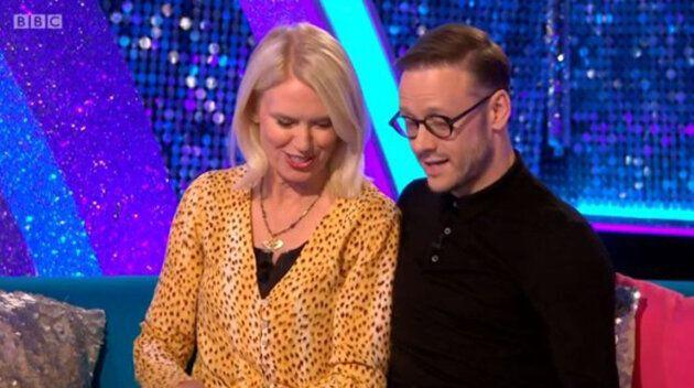 Anneka Rice and Kevin Clifton (Photo: BBC)
