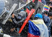 Demands of protest leaders include improved working conditions, improving the pension system and an end to the assassination of human rights activists
