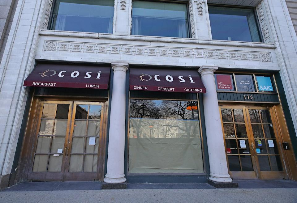 <p>Illinois is opening in phases, and restaurant dining rooms are much later in the plan. Though there's no firm date in place yet, it looks like it will be mid to late June at the earliest.</p>