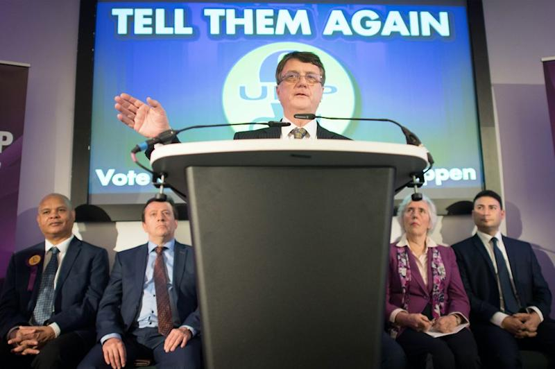 Mr Batten insisted that Ukip has a future (Getty)