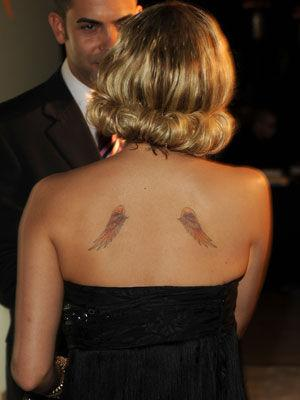 I wonder where Nicole Richie got her wings?