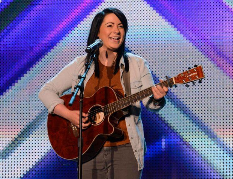 X Factor's Lucy Spraggan has hair pulled out in vicious attack