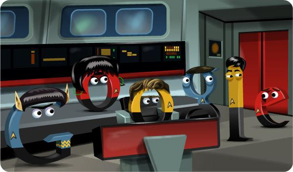 Google Doodle Boldly Goes Where No Doodle Has Gone Before