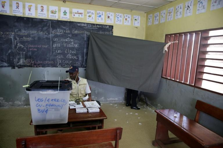 Voting in October 2018 in Gabon, where one family has been in charge for more than 50 years