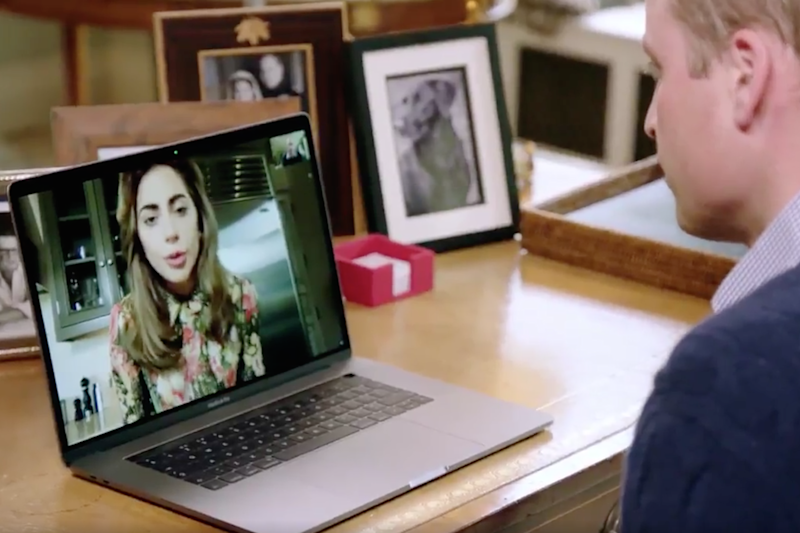 Lady Gaga and Prince William Join Forces With a Common Goal