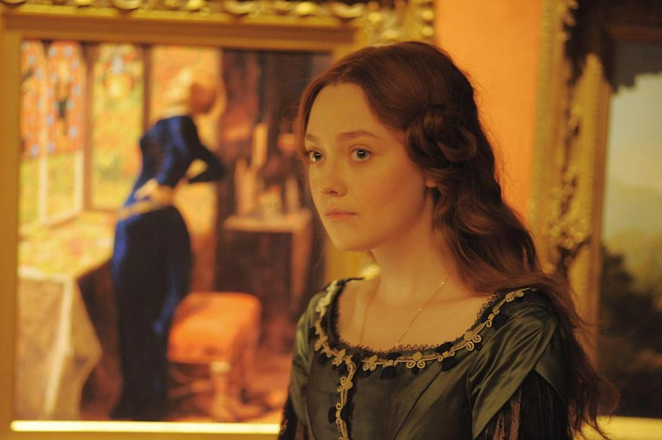 """<p>Gray marries young to art critic John Ruskin. However, the struggle to build an emotional connection with him causes her to fall in love with someone else, leading to one of the Victorian era's biggest scandals. </p> <p>Watch <a href=""""https://www.netflix.com/title/70292930"""" class=""""link rapid-noclick-resp"""" rel=""""nofollow noopener"""" target=""""_blank"""" data-ylk=""""slk:Effie Gray""""><strong>Effie Gray</strong></a> on Netflix now.</p>"""