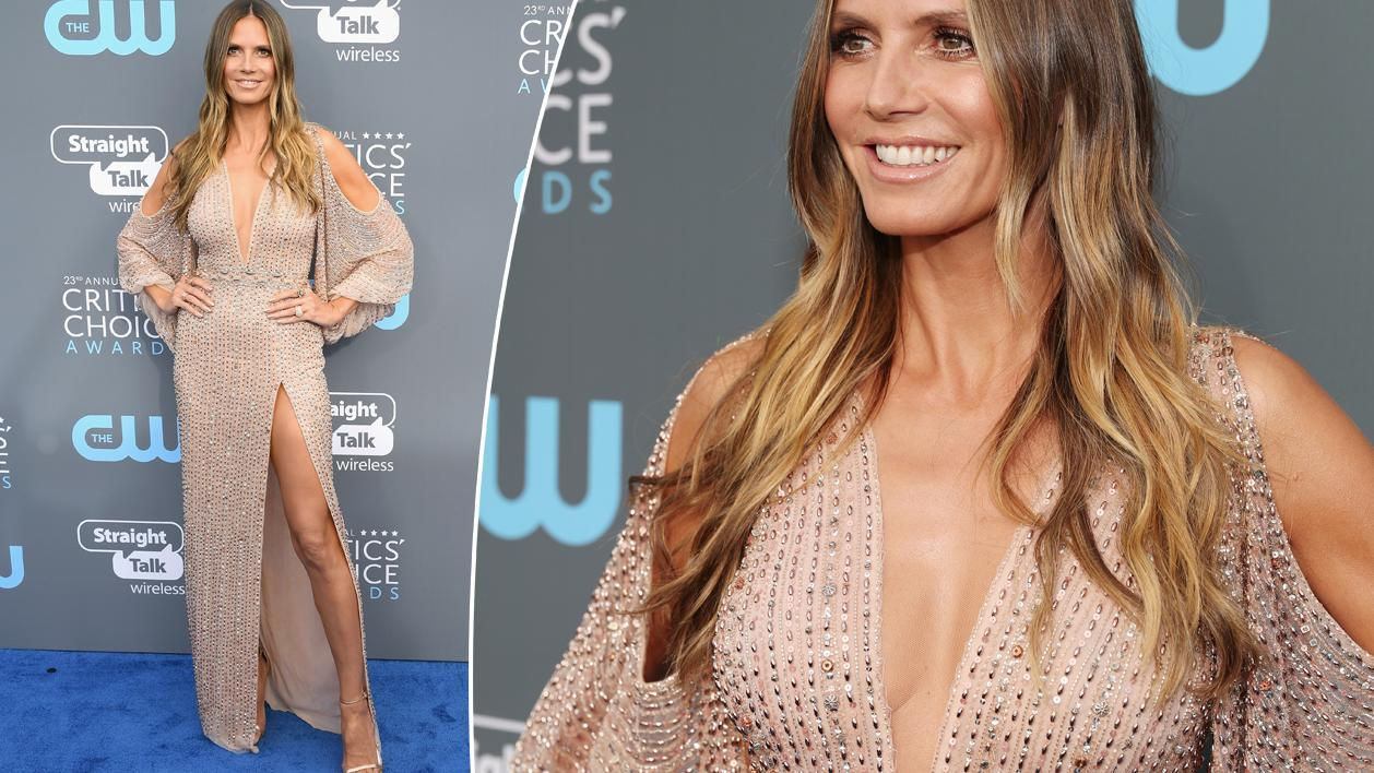 <p>The one thing Heidi Klum's gowns all have in common</p>