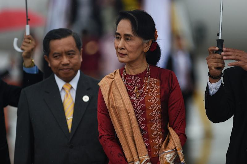 Myanmar leader says Rakhine commission will help heal wounds