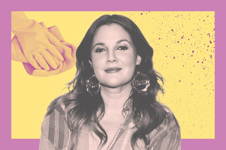 """Drew Barrymore Is Spring Cleaning to Feel More """"In Control"""" —  And She's Onto Something"""