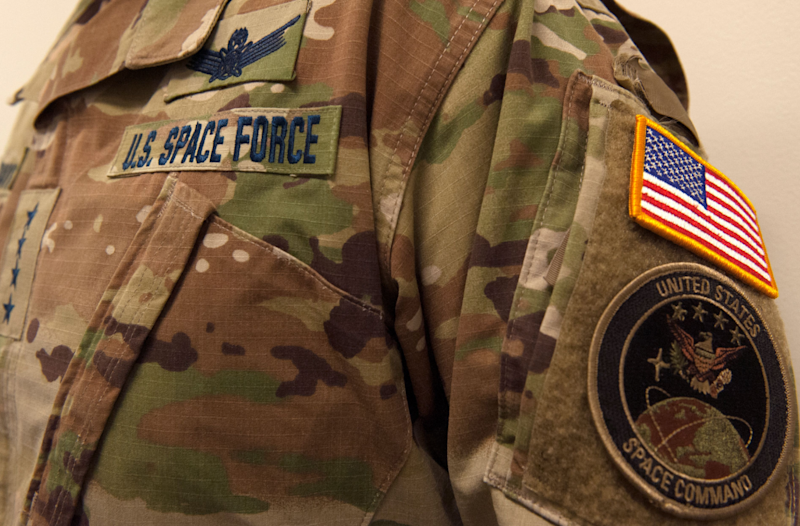 Space Force uniform unveiled to derision: United States Space Force