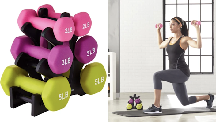 Turn your home into a gym.