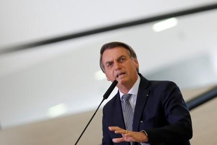 Brazil's Bolsonaro irks Chile with personal attack on U.N.'s Bachelet