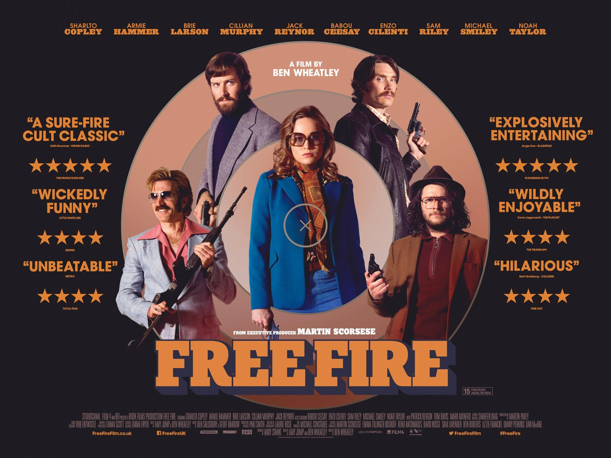Free Fire UK quad (Studio Canal)