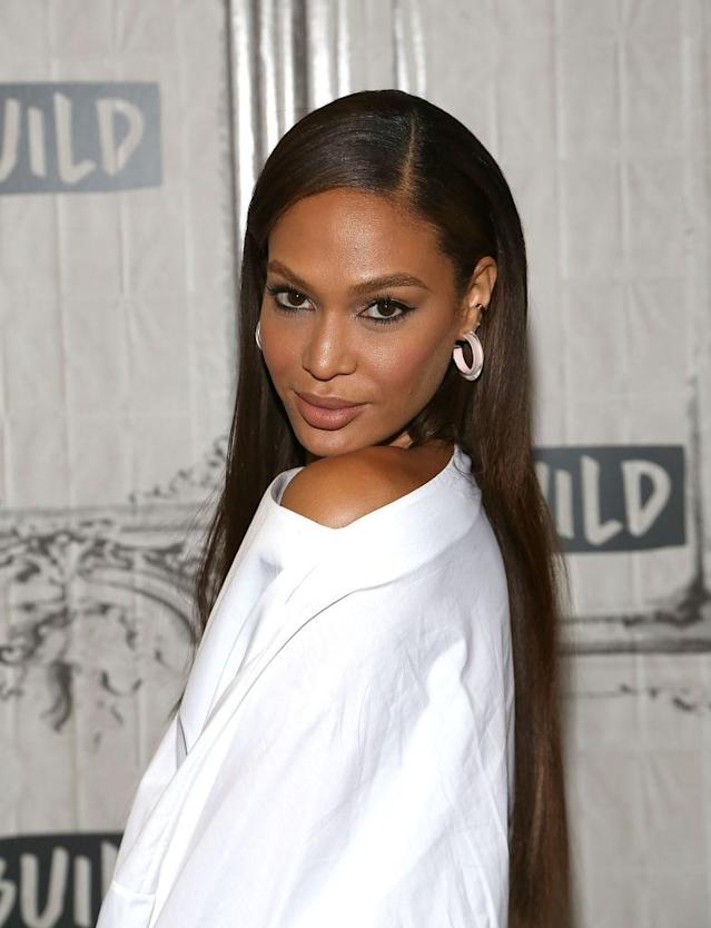 Joan Smalls visits the Build interview series on June 12, 2018, in New York City. (Photo: Build Series)