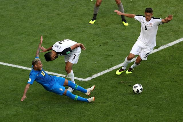 Neymar memes: Brazil star manages to dive, perform an outrageous flick and burst into tears in one World Cup match