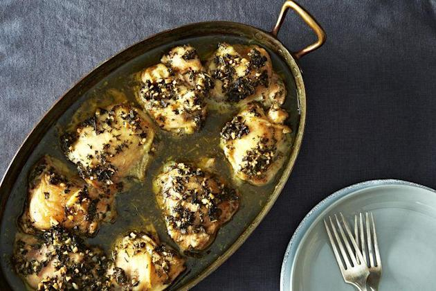 Chicken thighs from Food52