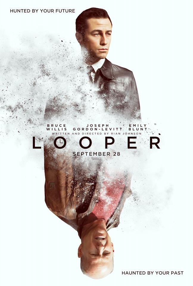 <b>The Best: LOOPER</b><br><br>There's a simple elegance in the miror image of Joseph Gordon-Levitt and Bruce Willis, the opposing forces of past and future in this time-bending sci-fi thriller.