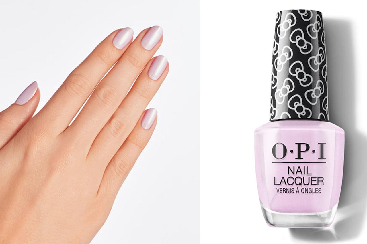 """<p>This might be the sleeper hit of the entire collection. It's a slightly shimmery, almost opalescent take on the collection's signature shade, Let's Be Friends! </p> <p><b>BUY IT: $10.50; <a href=""""https://www.amazon.com/OPI-Polish-Collection-Lacquer-Friends/dp/B07TF9S1W7/ref=as_li_ss_tl?ie=UTF8&linkCode=ll1&tag=slholopinewholidaycollectionkyoct19-20&linkId=f8010ed97cd4c2798378b4e71394024a&language=en_US"""" target=""""_blank"""">amazon.com</a></b></p>"""