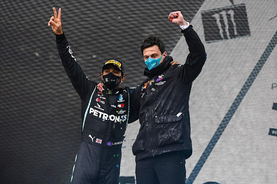 Wolff: Hamilton contract may wait until post-season