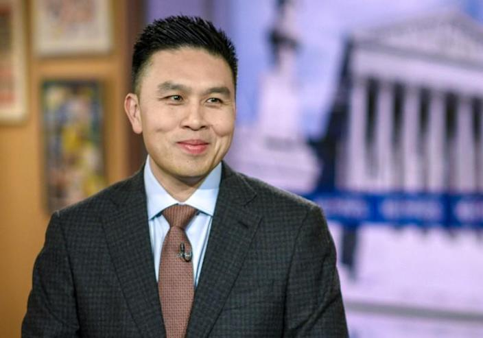 Lanhee Chen, Research Fellow, Hoover Institution during an appearance on 'Meet the Press' in Washington, D.C., Sunday, January 26, 2020. (Photo by: William B. Plowman/NBC)