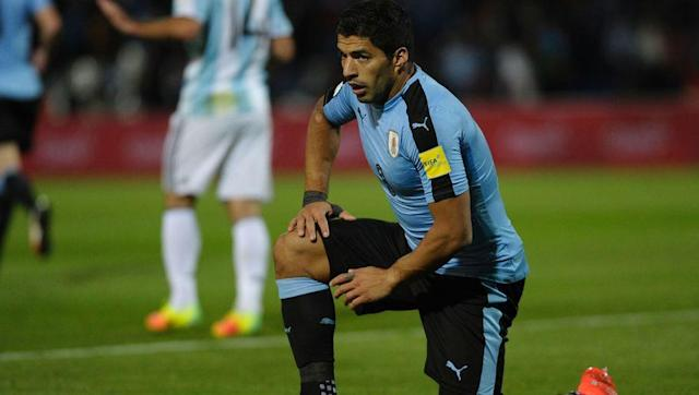 <p>There is simply too much attacking talent in South America to fit into one starting eleven. Honourable mentions go to Edinson Cavani, Mauro Icardi, Sergio Aguero, and Gabriel Jesus, but the ever prolific Luis Suarez makes this team.</p> <br><p>With 49 goals in 95 appearances for Uruguay, Suarez's is his nation's all-time leading goalscorer. </p> <br><p>At club level, Suarez has forged a formidable partnership with Lionel Messi at Barcelona which has seen the Uruguayan score 91 goals in 108 La Liga games.</p>