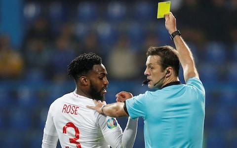 Danny Rose was booked, and racially abused by fans - Credit: Action Images via Reuters