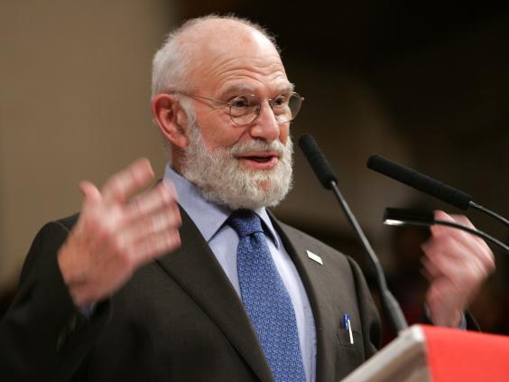 British neurologist and author Dr Oliver Sacks sees blindness as a gift of creativity to authors (Getty Images)