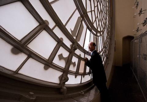 keeper of the clock - Credit: Getty