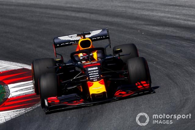 "Spielberg: Max Verstappen (Red Bull) <span class=""copyright"">Andrew Hone / LAT Images</span>"