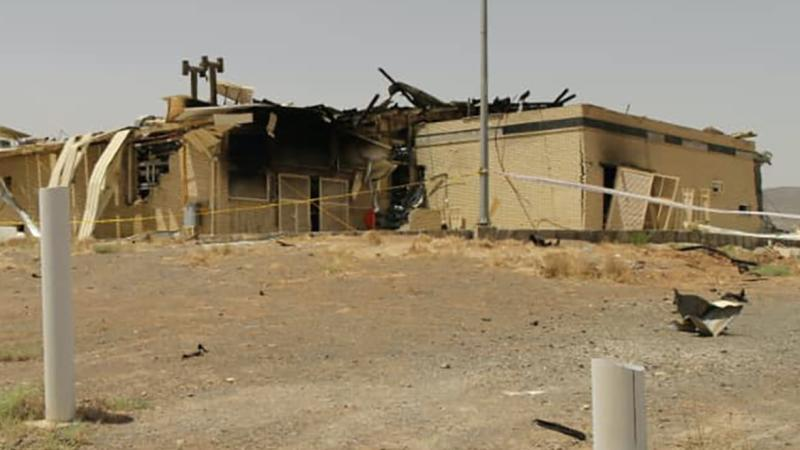 Iran says cause of fire at nuclear site is known