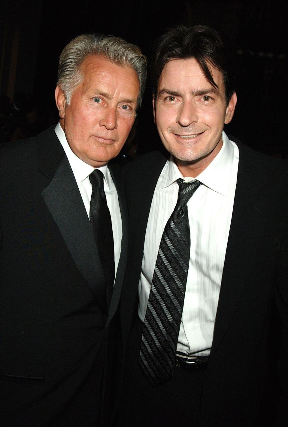 """<p><strong>Famous parent(s)</strong>: actor Martin Sheen<br><strong>What it was like</strong>: Charlie says they've gotten closer since his HIV diagnosis. """"I don't want to say it's specifically changed our relationship but something happened with he and I,"""" Charlie has <a href=""""http://pagesix.com/2016/01/11/charlie-sheen-better-friends-with-dad-after-hiv-diagnosis/"""" rel=""""nofollow noopener"""" target=""""_blank"""" data-ylk=""""slk:said"""" class=""""link rapid-noclick-resp"""">said</a>. """"We are such better friends than we've ever been. We don't judge each other. [It's] nothing but fun when we hang out. We don't agree on everything, obviously. I mean what son and father do? He's a special cat. And I'm really lucky to have him.""""</p>"""