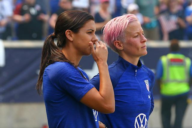 In a surprising decision, a judge dismissed the USWNT's primary argument in the equal pay lawsuit. (Photo by Rich Graessle/Icon Sportswire via Getty Images)