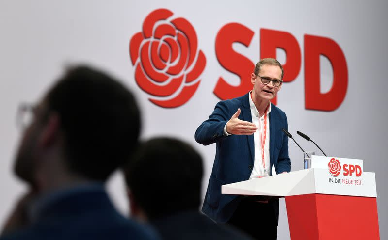 FILE PHOTO: Social Democratic Party (SPD) holds a party congress in Berlin