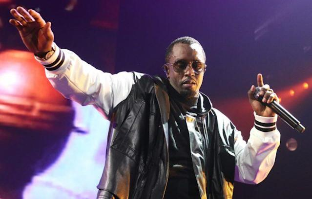 """Sean """"P. Diddy"""" Combs performs at the Bad Boy Reunion concert at the Barclays Center on May 20, 2016, in Brooklyn, N.Y. (Photo: Walik Goshorn / Media Punch/IPX)"""