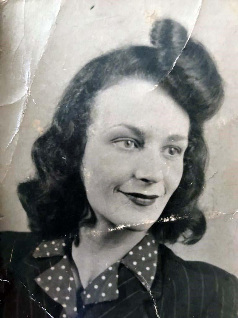 A family photo of Doris in her younger years. (PA Images)