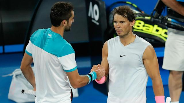 Rafael Nadal suggested the ATP should review its hectic calendar to avoid injuries but Marin Cilic feels players must look after themselves.