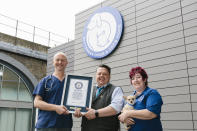 <p>This record goes to Battersea Dogs Home, which was founded in 1860. (PA) </p>