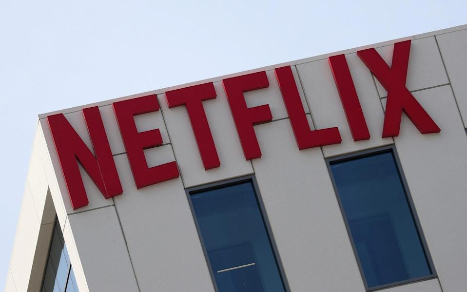 The Netflix logo is seen on their office in Hollywood, Los Angeles - Lucy Nicholson/Reuters