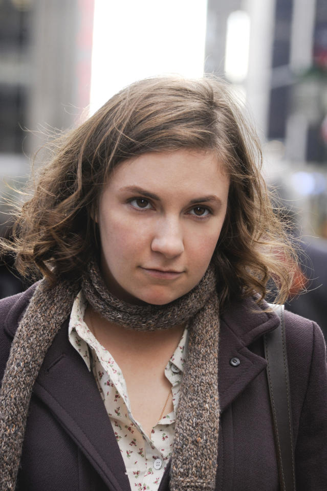 "Lead Actress in a Comedy Series: Lena Dunham, ""Girls"""
