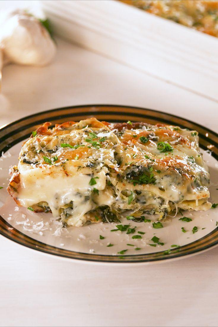 """<p>So. much. cheese.</p><p>Get the recipe from <a href=""""https://www.delish.com/cooking/recipe-ideas/a20114053/spinach-artichoke-ravioli-bake-recipe/"""" rel=""""nofollow noopener"""" target=""""_blank"""" data-ylk=""""slk:Delish"""" class=""""link rapid-noclick-resp"""">Delish</a>. </p>"""
