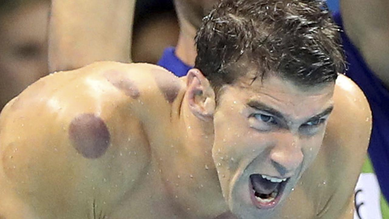 Michael Phelps won 23 gold, three silver and two bronze medals between Athens 2004 and Rio 2016