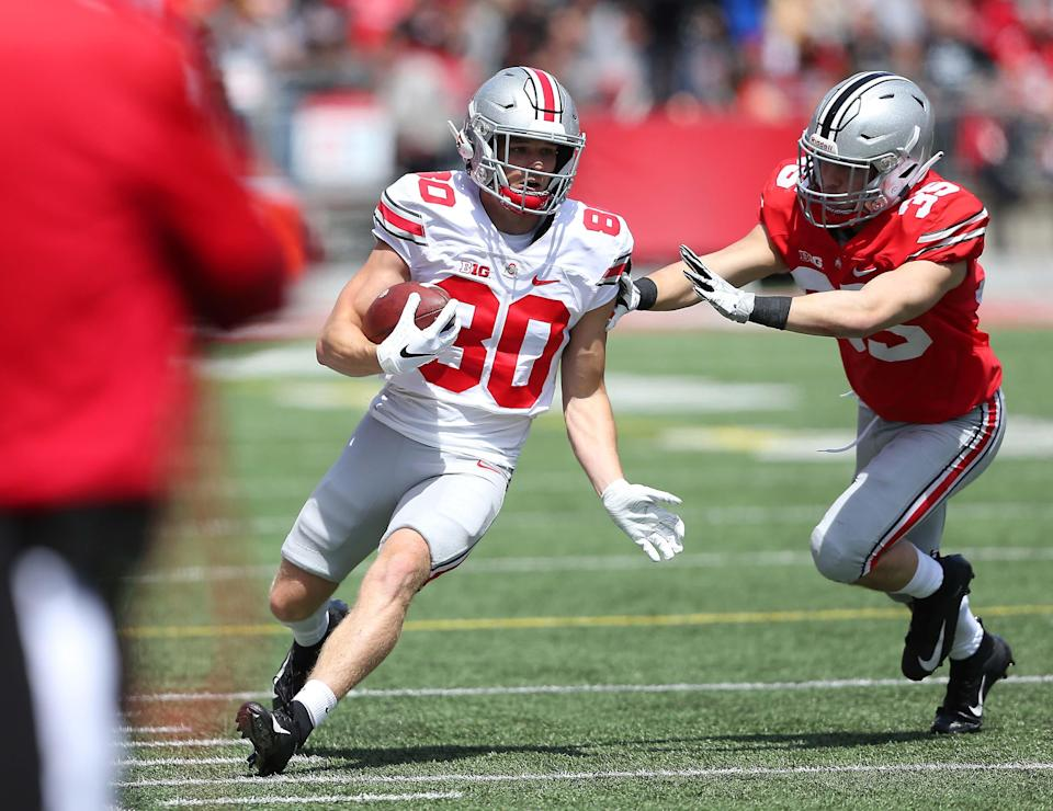 Former Ohio State receiver C.J. Saunders signs with Carolina Panthers