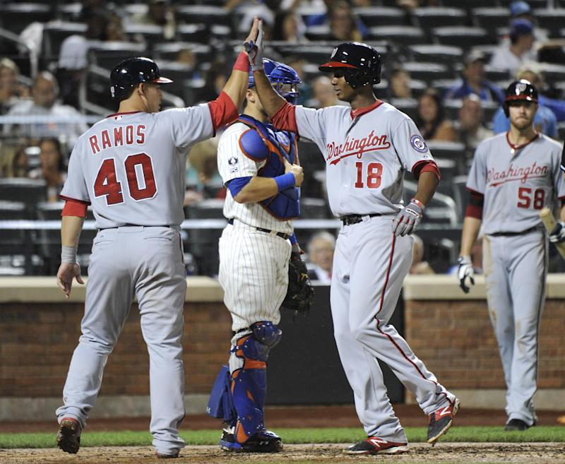 Taylor HR in MLB debut as Fister, Nats beat Mets