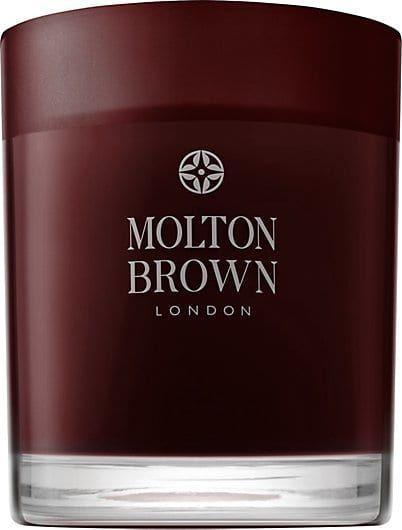 "<p>Molton Brown's rich candle is holiday incarnate with spicy notes of ginger, amber, and bergamot.</p> <br> <br> <strong>Molton Brown</strong> Black Peppercorn Single-Wick Candle, $35, available at <a href=""https://www.barneyswarehouse.com/product/molton-brown-black-peppercorn-single-wick-candle-504147787.html"" rel=""nofollow noopener"" target=""_blank"" data-ylk=""slk:Barneys Warehouse"" class=""link rapid-noclick-resp"">Barneys Warehouse</a>"