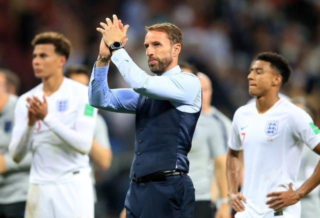 Gareth Southgate's England were knocked out of the 2018 World Cup by Croatia.